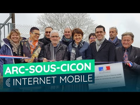 Internet mobile à Arc-sous-Cicon (Doubs)