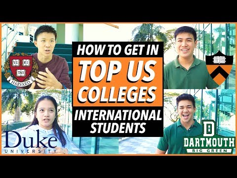 How To Get Into Top US Colleges From INTERNATIONAL Students: Stats, Essays, Activities | Katie Tracy