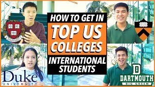 How to get into Top US Colleges 2019: Stats, Essays, Activities (International Students) Katie Tracy