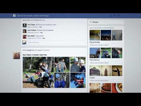 Facebook News Feed แบบใหม่ 2013