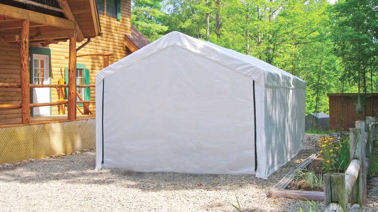 ShelterLogic® MaxAP™ Canopy Enclosure Kit & ShelterLogic® MaxAP™ Canopy Enclosure Kit - YouTube