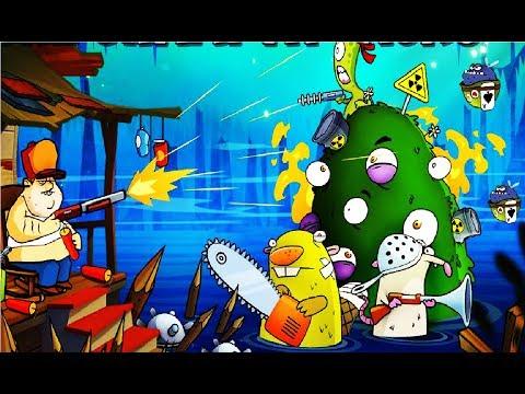 СУПЕР БОССЫ в  Swamp Attack #49 ИГРОВОЙ МУЛЬТИК СТРЕЛЯЛКА ПРО МОНСТРОВ ИГРА НА  СВЕМП АТАК