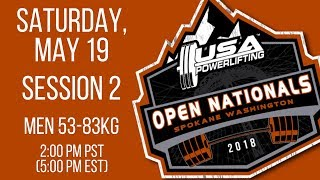 Saturday - S2 - 2018 USA Powerlifting Open Nationals