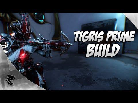 Warframe: Tigris Prime 100% Status Build 2017