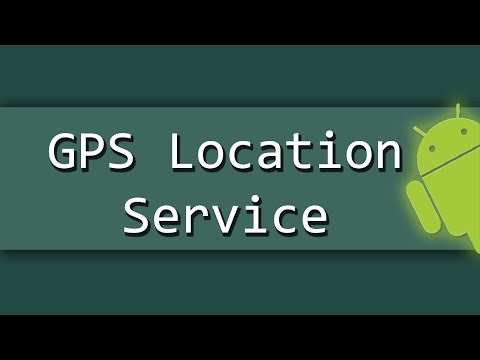 Android - Get GPS location via service