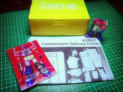 Transformers G1 Optimus Prime Resin Model Kit Review 1/2, e2046 cast from Wonder Festival