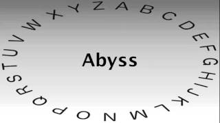 SAT Vocabulary Words and Definitions — Abyss