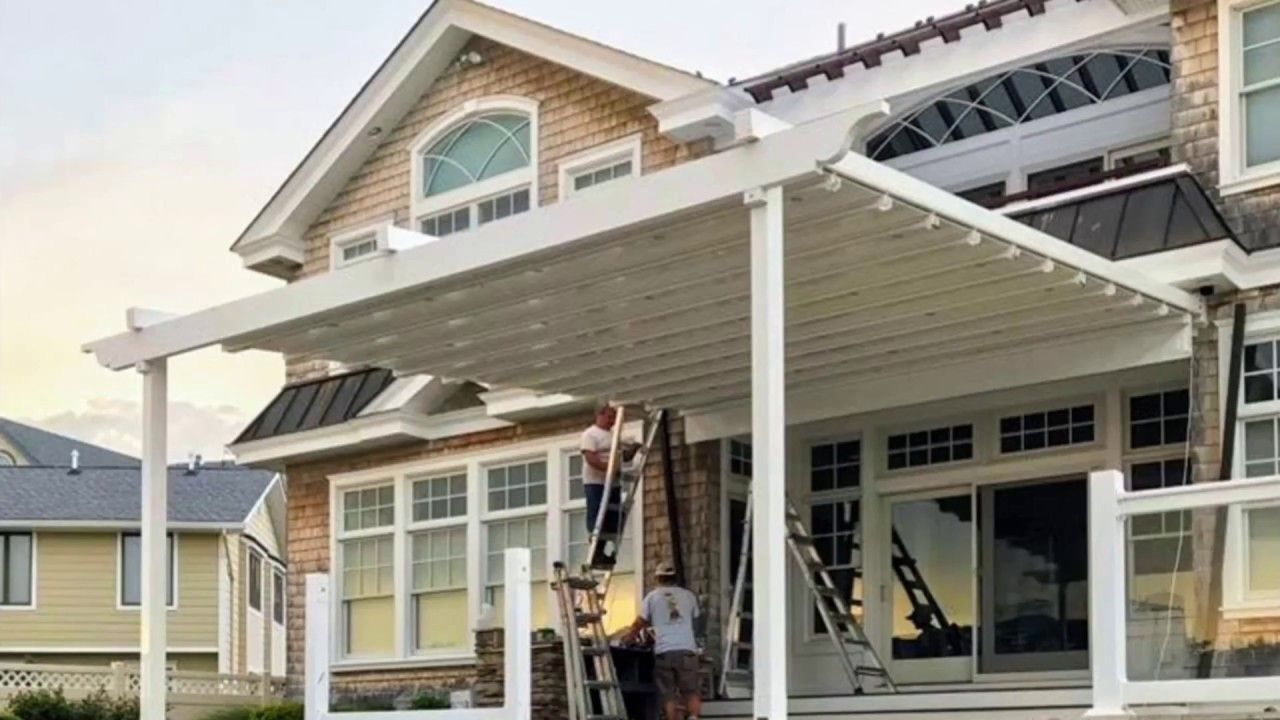 Milanese Pergola~ Windproof & Rainproof Retractable Roof. Outdoor Living  Expert Approved! - Milanese Pergola~ Windproof & Rainproof Retractable Roof. Outdoor