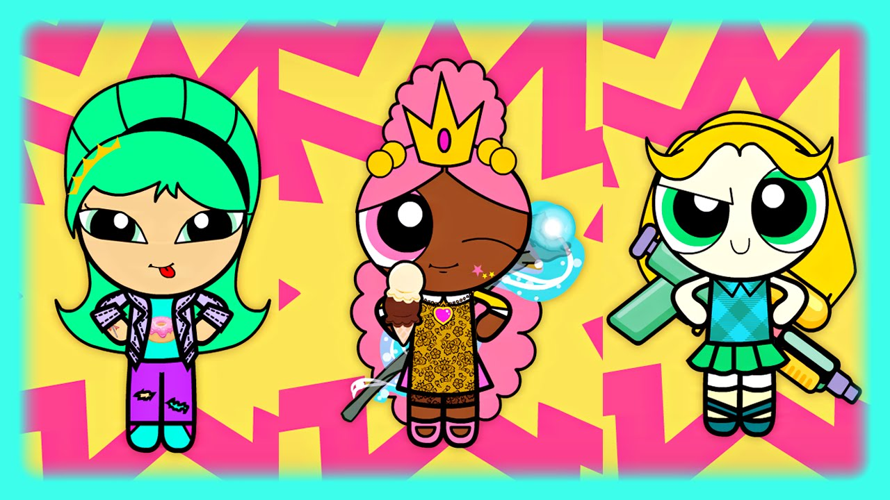 Powerpuff Girls Dress Up Game - Free online flash games to ...