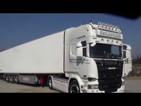 Scania on the road...Στο δρόμο με τον Γιώργο Καριοφύλλη