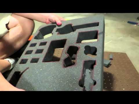 Custom Pelican Case Project: Part 2 - Cutting the Foam