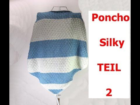 Poncho Silky Aus Woolly Hugs Nobly Tunesisch Häkeln Mit Veronika