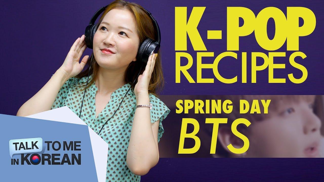K-pop Recipes: BTS - Spring Day (봄날) - YouTube