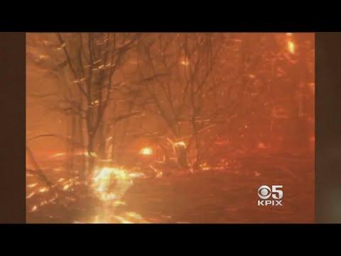 Cascade Fire Closes In On Two Roommates Near Yuba City