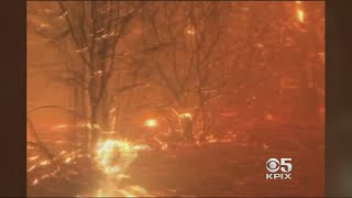 Cascade Fire Closes In On Two Roommates Near Yuba City