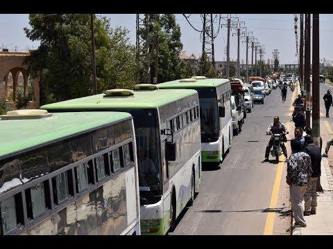 اتصال هاتفي: دخول عدة حافلات إلى حي درعا البلد  - نشر قبل 3 ساعة
