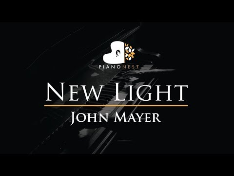 John Mayer - New Light - Piano Karaoke / Sing Along / Cover With Lyrics