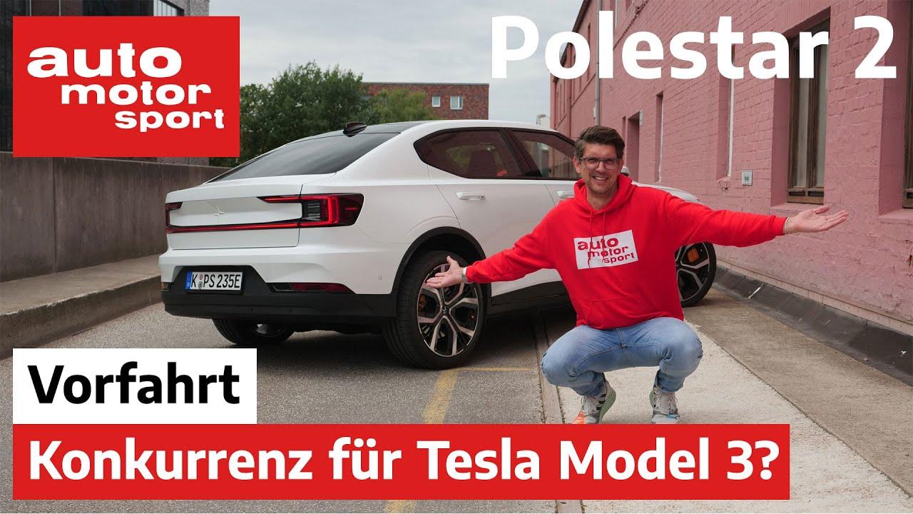 Polestar 2: Die neue Konkurrenz für das Tesla Model 3? – Vorfahrt (Review) | auto motor und sport