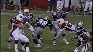 Tony Romo Preseason Drive #1 8/13/05