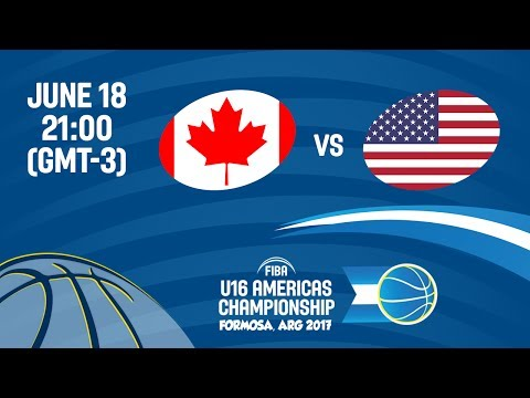 Canada vs United States - Final - FIBA U16 Americas Champion