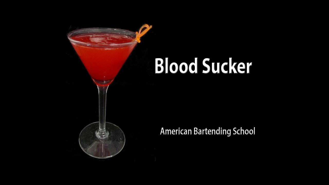 blood sucker halloween drink recipe - youtube