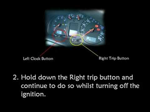 How to reset vw golf mk4 key fob | Key fobs not working even with