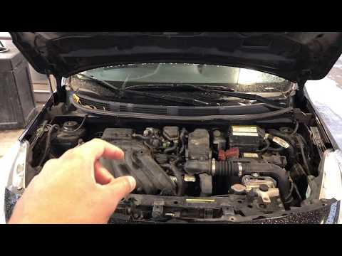 ADD REFRIGERANT  - NISSAN VERSA - HOW TO