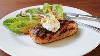 Pickle Brine Chicken Breasts - Tender & Juicy Grilled Chicken Using Pickle Juice