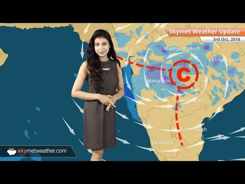 Weather Forecast for Oct 3: Light rain in Delhi and good rains over Maharashtra