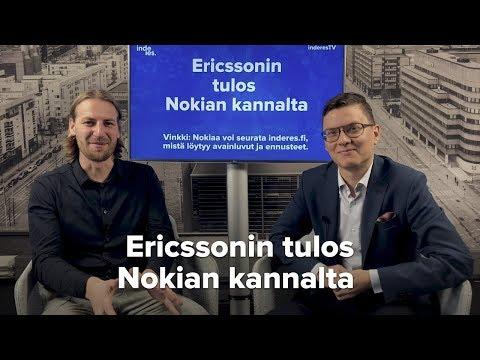 Mitä Ericssonin tulos tarkoittaa Nokian kannalta?