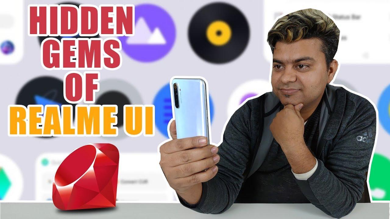 10 Best Unique Features Of Realme UI   Hidden Options   Comparison With Color OS 7