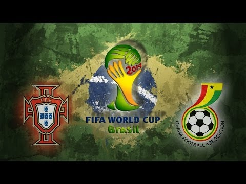Let´s Play PES 2014 [WM Orakel] #139 Portugal vs. Ghana HD Bayrisch
