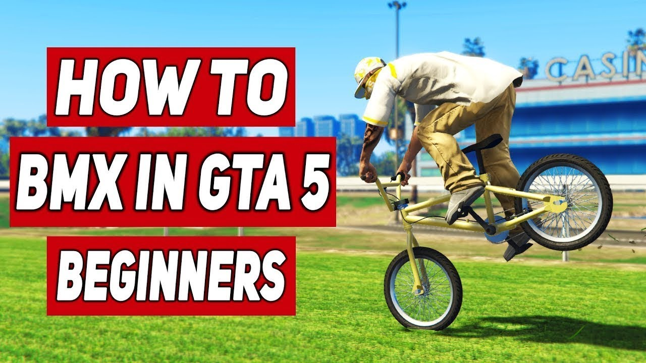 GTA 5 - All BMX TRICKS Tutorial For BEGINNERS! (GTA V How To BMX Stunt)