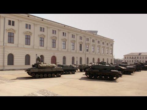 Restauration im Militärhistorischen Museum der Bundeswehr Dresden