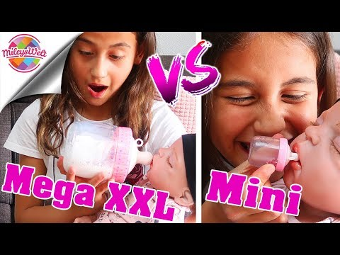 MEGA XXL & MINI REBORN BABYFLASCHEN - Smooshy Mushy Baby | Mileys Welt