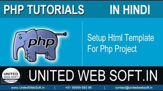 Setup Html Template For Php Project
