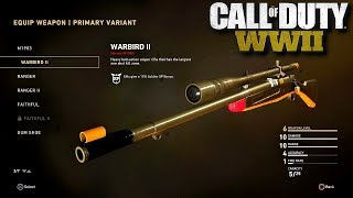 NEW Springfield Variant on COD WW2 (On DLC 3's new map)