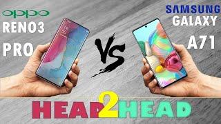 OPPO RENO3 PRO VS Samsung Galaxy A71