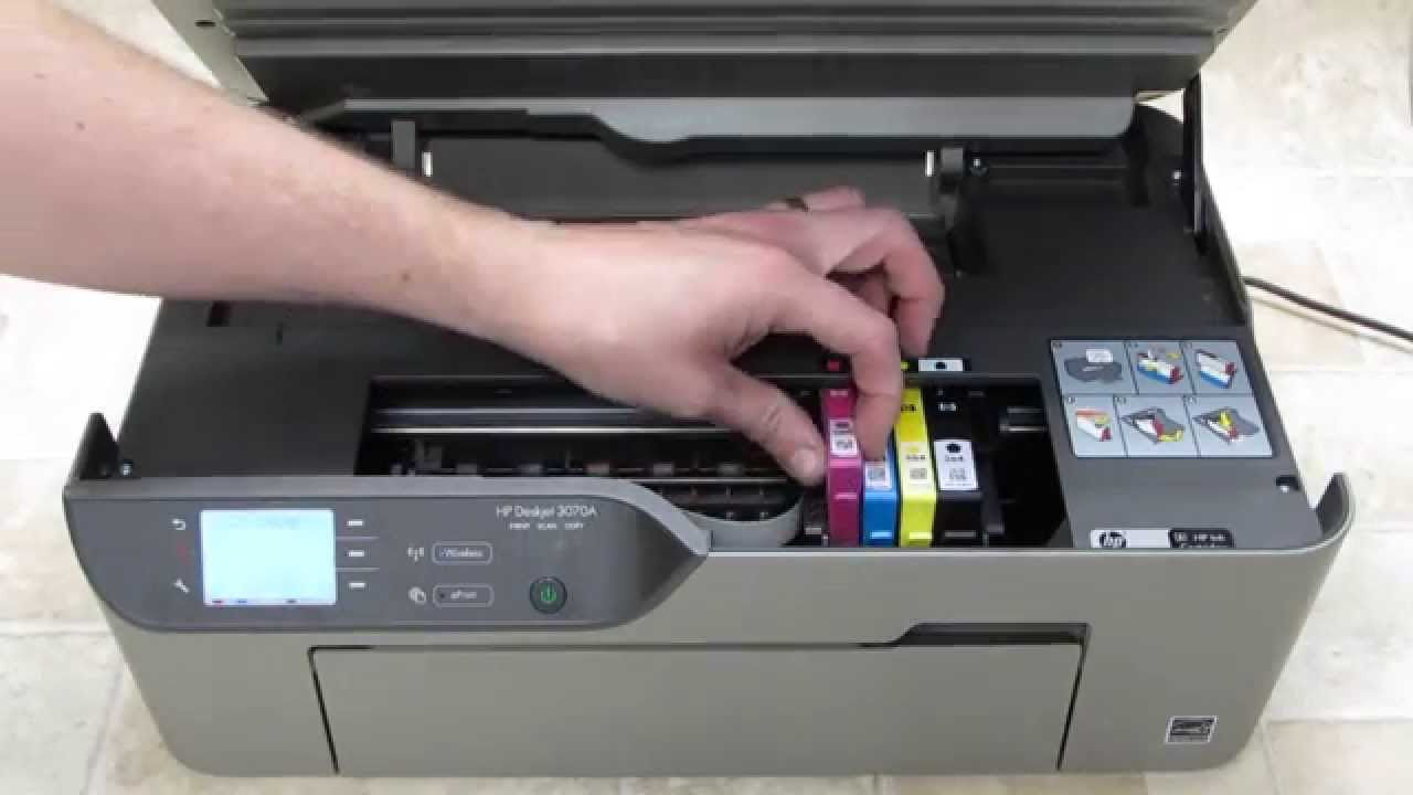 HP DESKJET 3070A PRINTER DRIVER