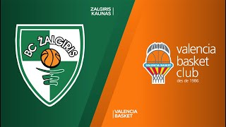 Zalgiris Kaunas - Valencia Basket Highlights | Turkish Airlines EuroLeague, RS Round 5