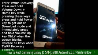 How-to-root-J320H-TWRP-RECOVRY