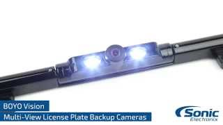 BOYO Vision License Plate Frame Style Back-Up Cameras