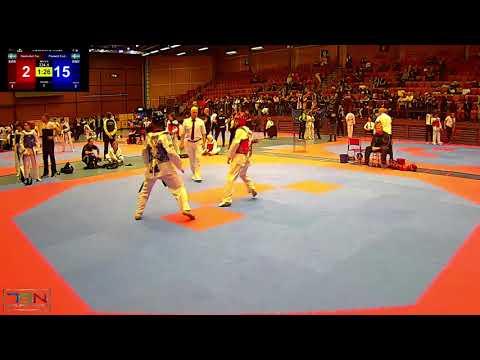 334 1  Frederik Emil Olsen, Soo Shim TKD Klubb vs  Hasibullah Tarakhil, Chae Taekwondo Sweden 28 2