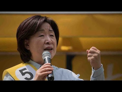 Only woman in S. Korea election, Sim Sang-Jung sees growing popularity