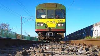 Train Rolling Over Camera