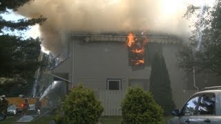 Working Apartment Building Fire in Hanover Twp., Lehigh County, PA | 06.08.13