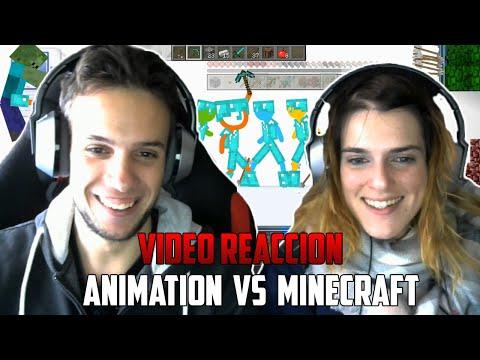 ANIMATION VS MINECRAFT | YUGO Y YAIMA VÍDEO REACCIÓN