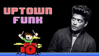 Mark Ronson feat. Bruno Mars - Uptown Funk (Drum Cover) -- The8BitDrummer