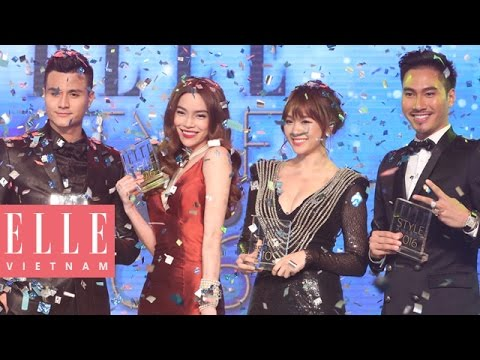 Đêm Trao Giải ELLE Style Awards Việt Nam 2016