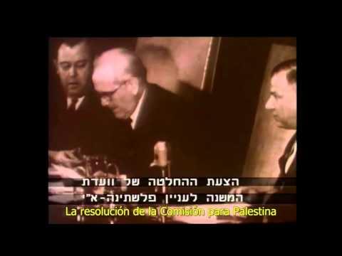 Partición De Palestina - Votación En La ONU